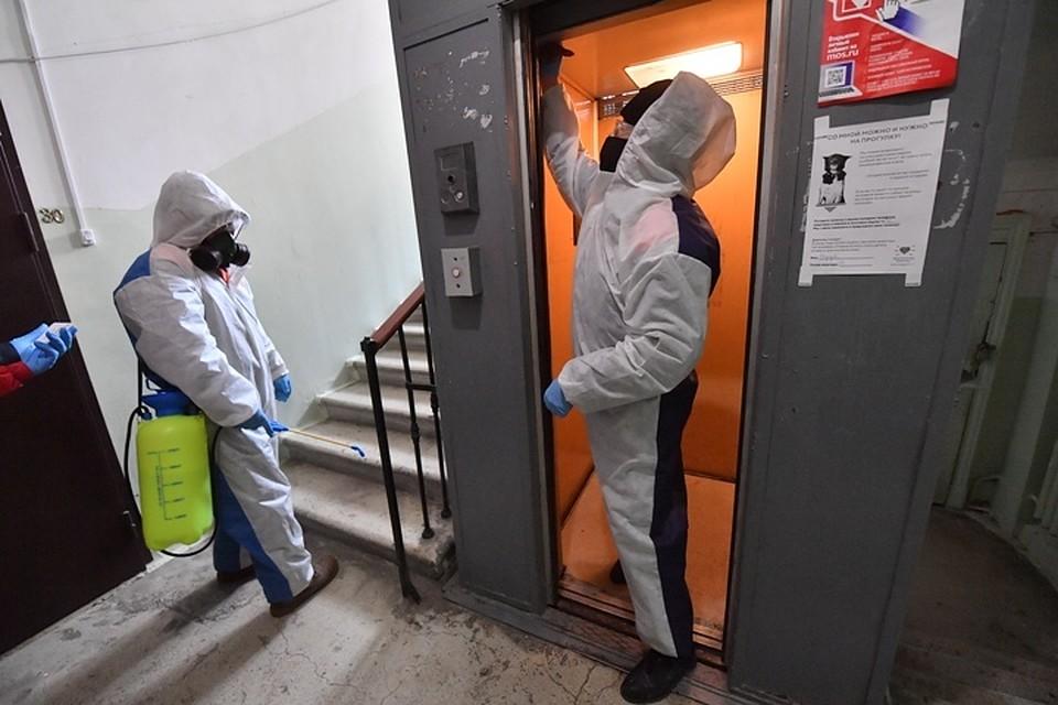 Чем и как проводить дезинфекцию в подъезде от коронавируса