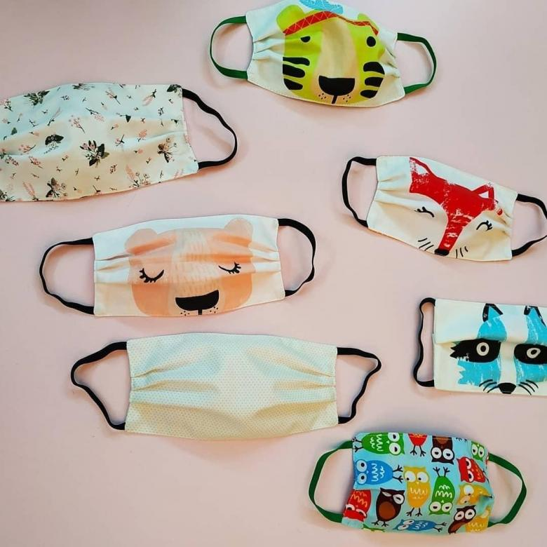 как сшить детскую защитную маску выкройка