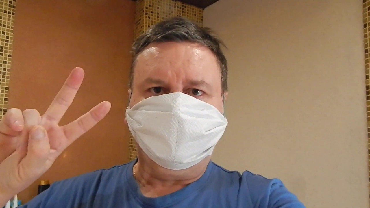 Как сделать медицинскую маску для лица из туалетной бумаги своими руками