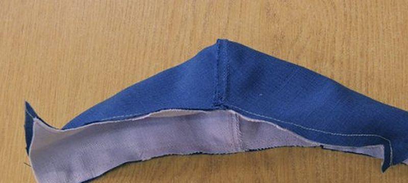 как сшить детскую защитную маску на лицо